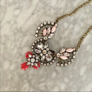 Pink statement necklace from Target